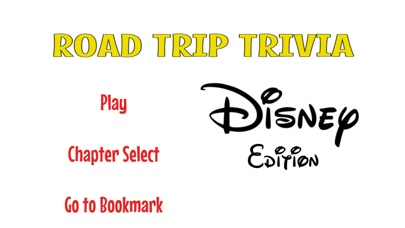 Road Trip Trivia Disney Edition Screenshot