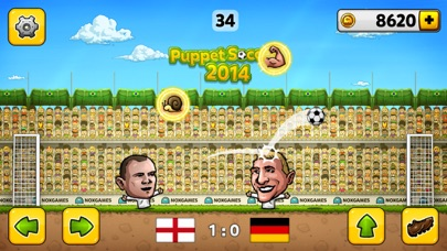 Puppet Soccer 2014 -  Fußball-EM der MarionettenweltScreenshot von 3