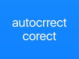 Autocorrect Correct