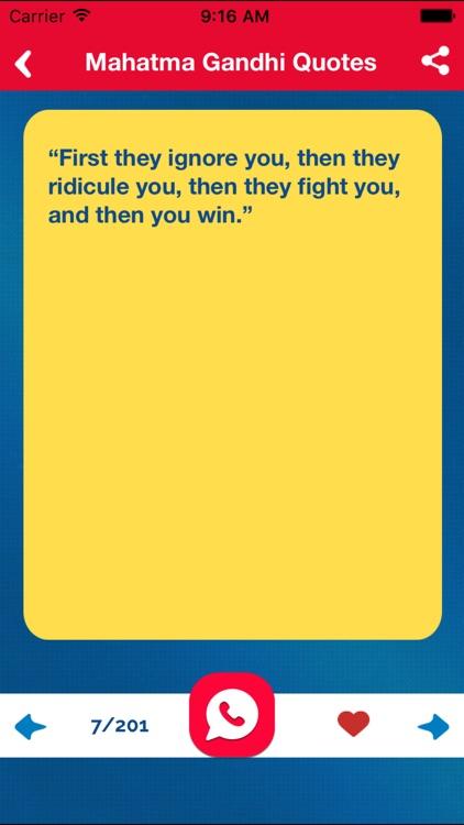 Great Quotes Biography & Saying of Mahatma Gandhi screenshot-3