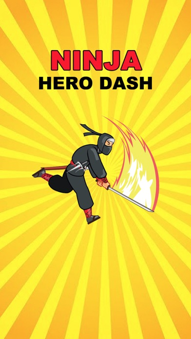 Ninja Hero Dash screenshot one