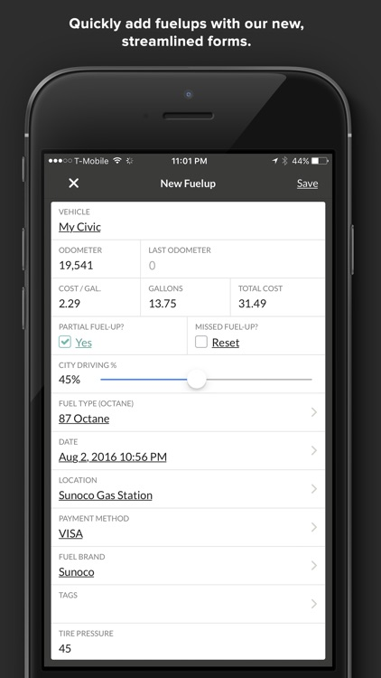 Gas Cubby by Fuelly - MPG, Mileage & Fuel Economy screenshot-4