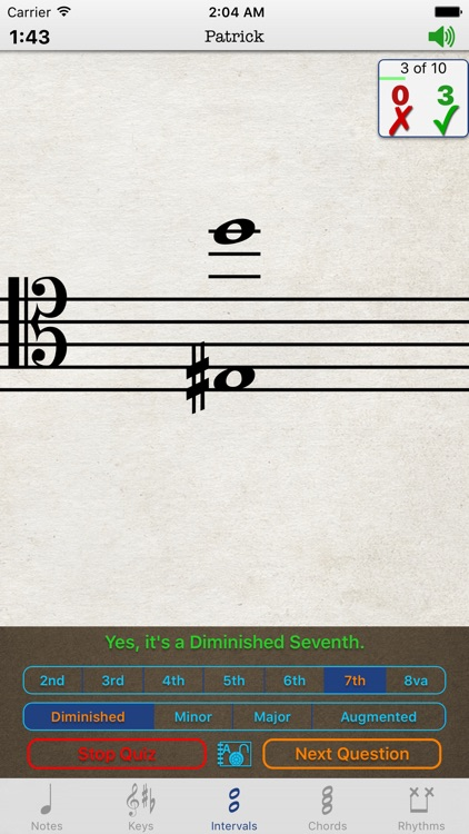 Music Theory Advanced for iPhone screenshot-3