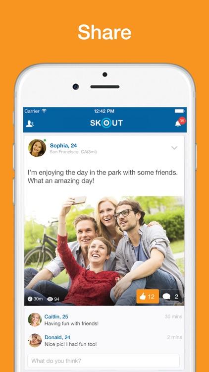 Skout - Chat, Meet New People screenshot-4