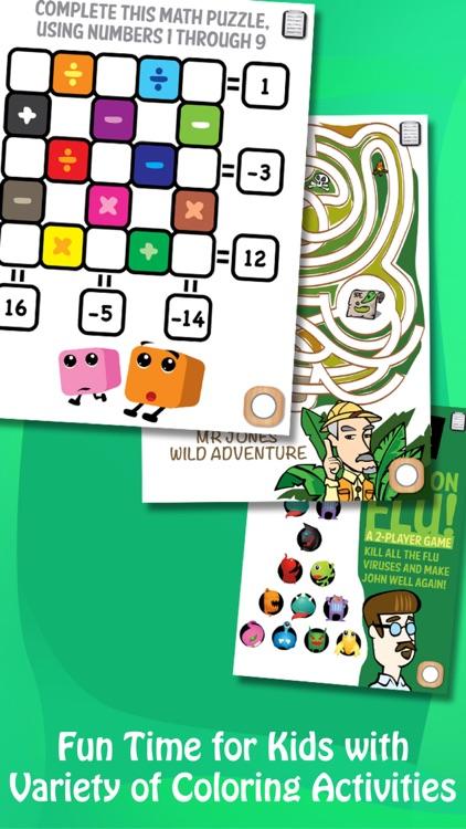 Kids Paint & Play, Coloring Book & DIY Brushes screenshot-3