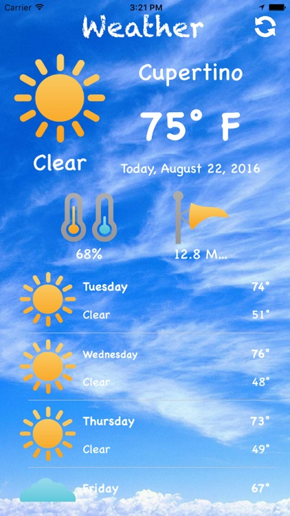 Cool Weather App