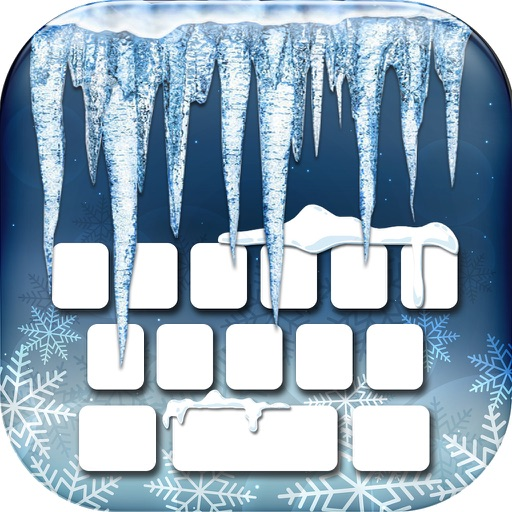 Frozen Keyboard Maker – Custom Keyboard Changer with Ice Backgrounds and Fancy Fonts Free
