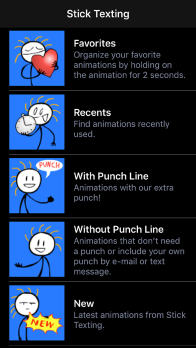 Stick Texting Emoji Emoticons Killer Screenshot