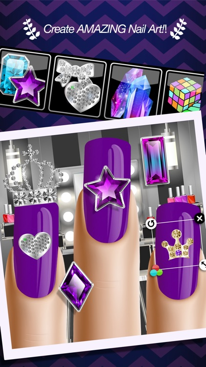 Nail Star - Nails Salon Manicure and Decorating Game for Girls screenshot-3