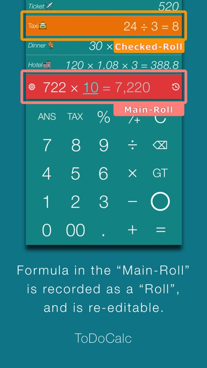 ToDoCalc - Best free & Smart calculator