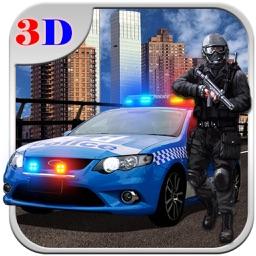 Traffic Police Car Chase Sim