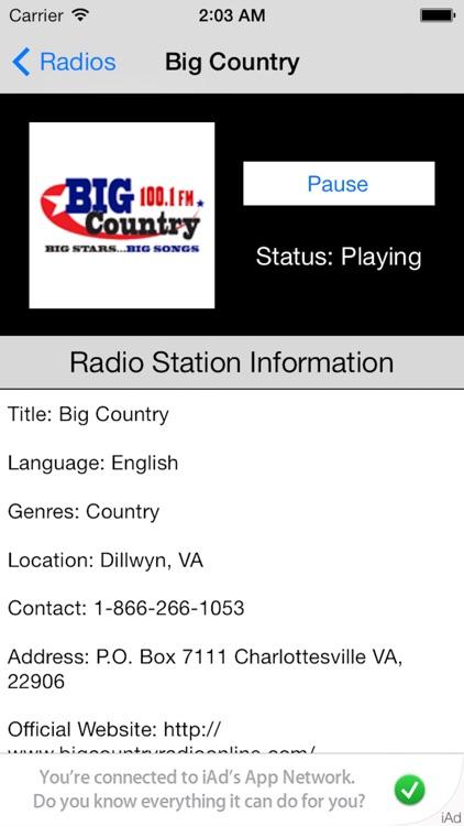US Radio Live (United States of America USA) screenshot-4