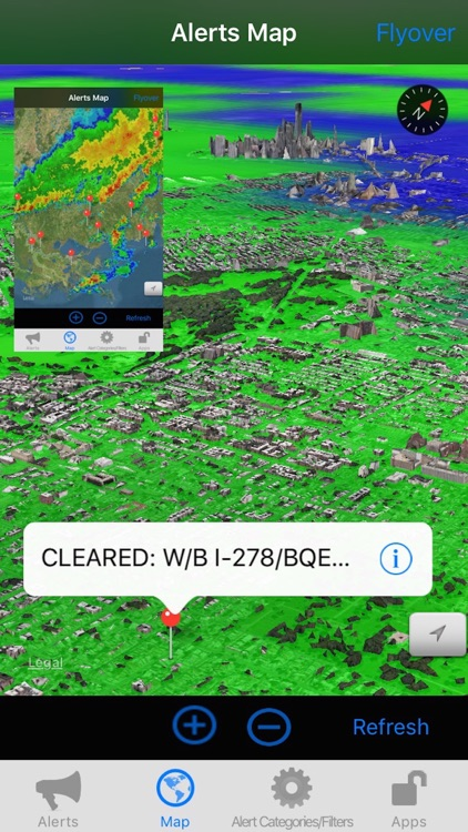 US NOAA Alerts with NOAA Radar 3D Pro