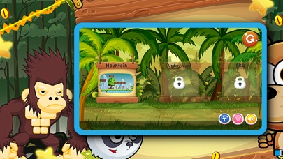 Banana Zoo Adventure Kong Animal Running Game For Kids App