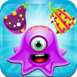 Crazy Alien Farm! : - A fun match 3 puzzle walk for Christmas season.
