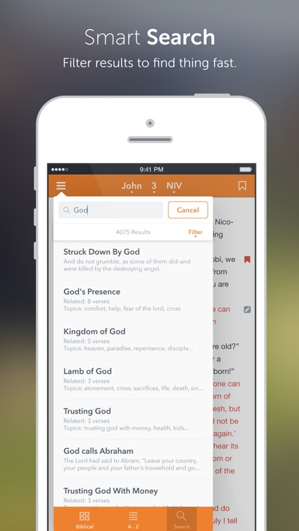 NASB Bible+ screenshot-2
