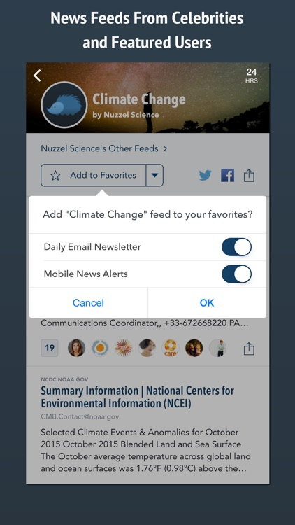 Nuzzel: News for Professionals screenshot-2