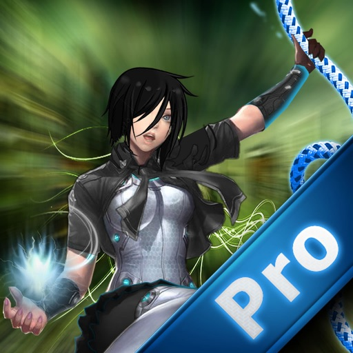 Amazing Girl Swing Rope Pro - Warrior & Ninja Rope Race Game