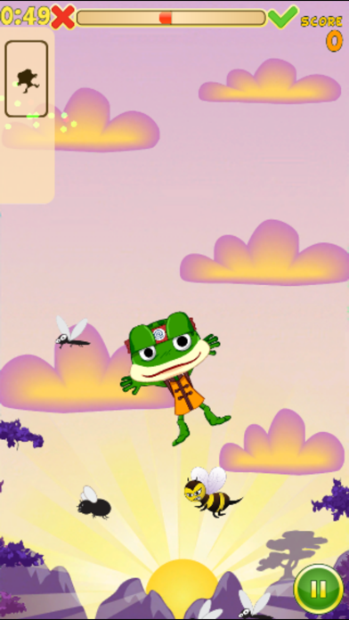 Hungry Frog Lite screenshot three
