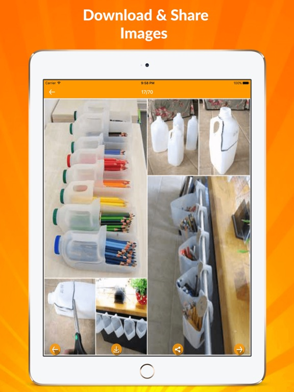 Diy Recycled Crafts Ideas App Price Drops
