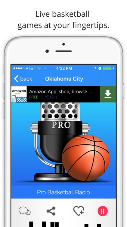 GameDay Pro Basketball Radio - Live Games, Scores, Highlights, News, Stats, and Schedules screenshot-2