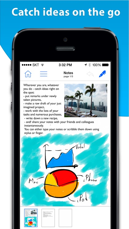Notes HD for iPhone - Notes, PDF, Drawing screenshot-0