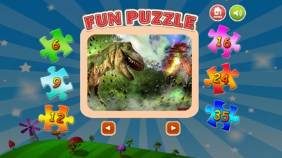 Little Dinosaur Jigsaw Puzzle Boards For Adults screenshot two