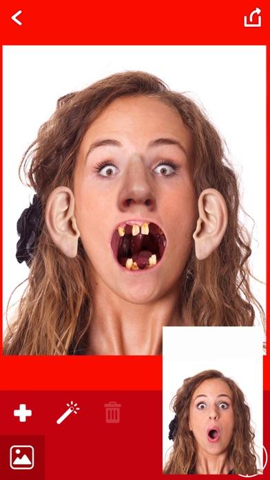 醜い 顔 写真 編集者 - おかしい カメラ ステッカー紹介画像5