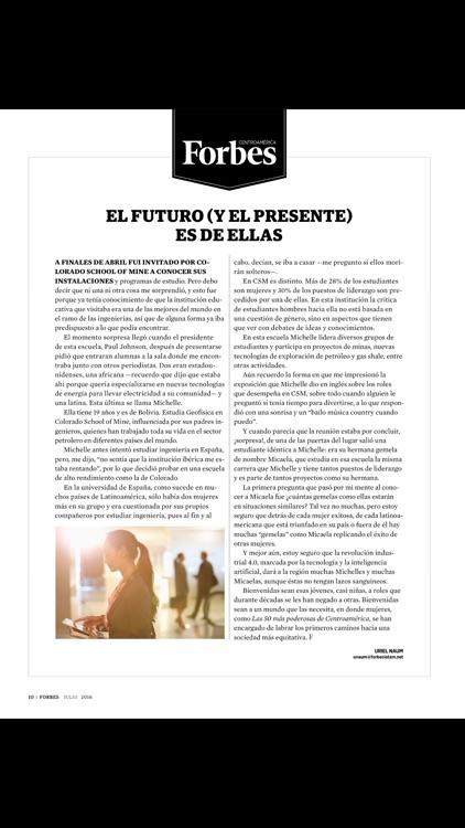 Forbes Centroamérica Magazine screenshot-4