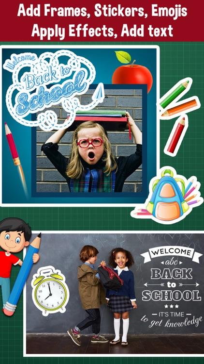 Back To School Frames Photo Editor By Bhaumik Harshadray Mehta