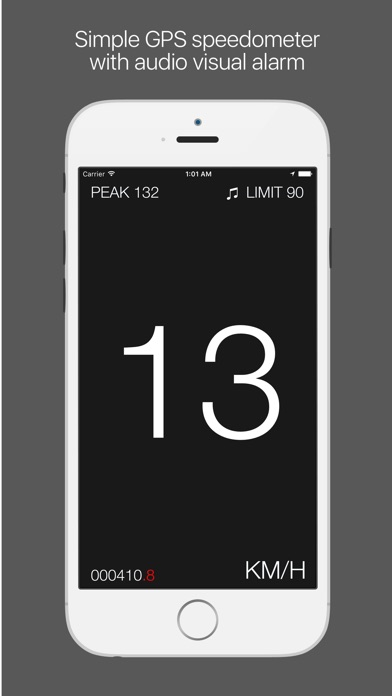 Screenshot #4 for Speedo - speedometer with speed limiter and HUD mode