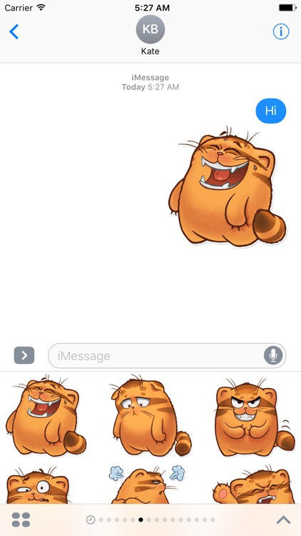 The Manul Cat - Amazing Sticker Pack for iMessage