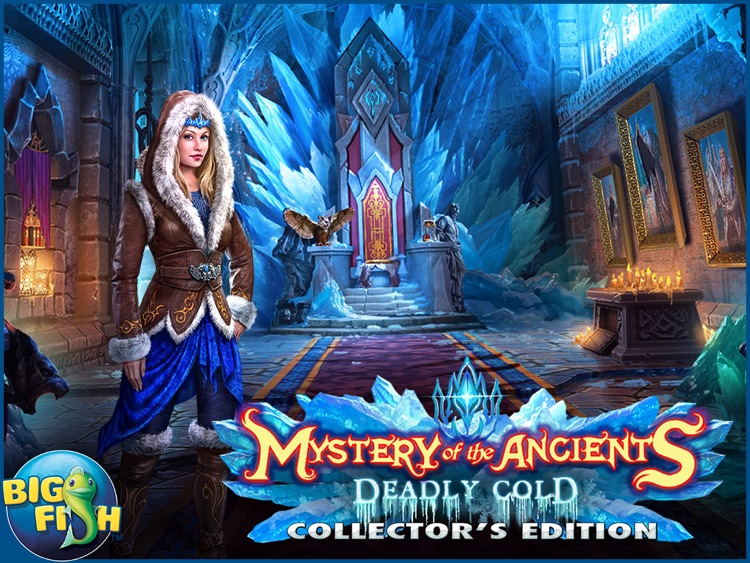 Mystery of the Ancients: Deadly Cold HD - A Hidden Object Adventure (Full) screenshot-3