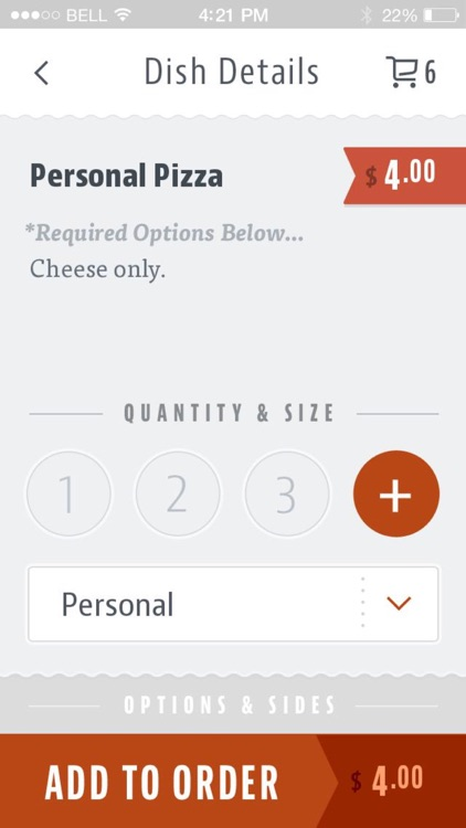 Il Primo Pizza and Wings screenshot-3