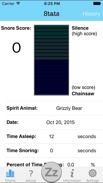 Snore Loop - Track Your Snoring And Sleep Apnea screenshot-4