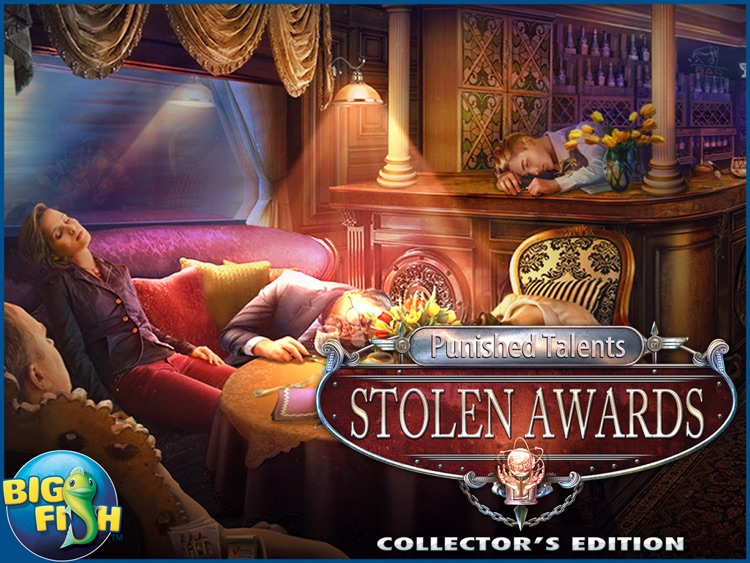 Punished Talents: Stolen Awards HD - A Mystery Hidden Object Game screenshot-4