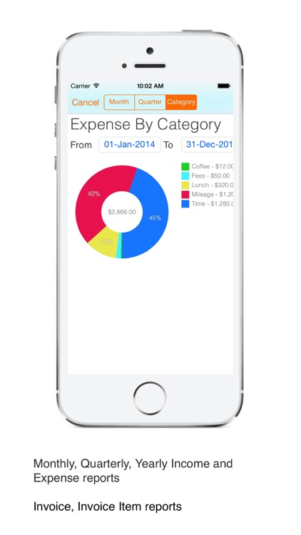 Time Tracker Pro : Log time, business expenses, create and send pdf invoices screenshot-4