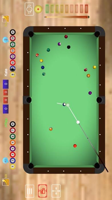 Pool Club 3D - 8 Ball, 9 Ball, 3 Cushion Billiardsのスクリーンショット3