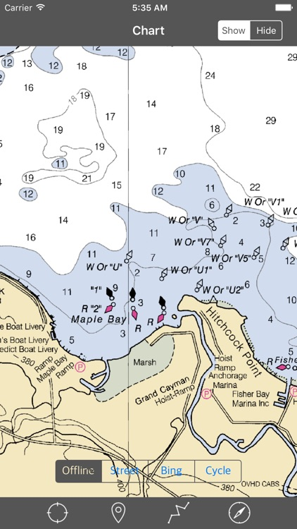 Oneida Lake (New York) – Raster Nautical Charts screenshot-4