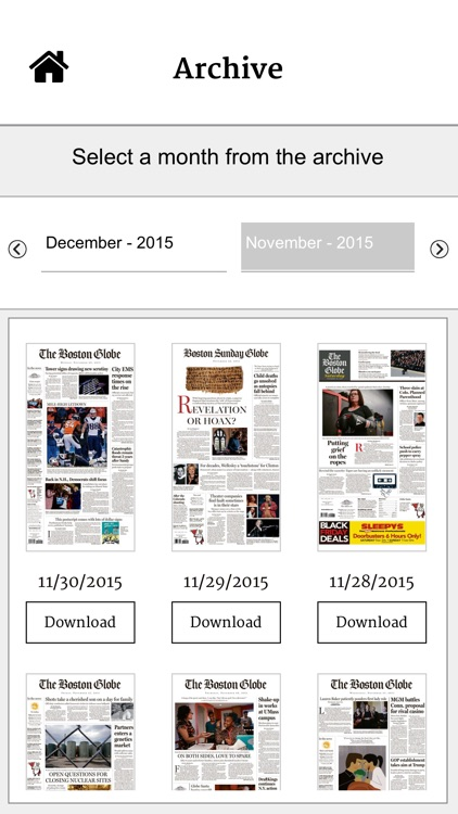 The Boston Globe ePaper screenshot-3