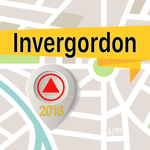 Invergordon Offline Map Navigator and Guide