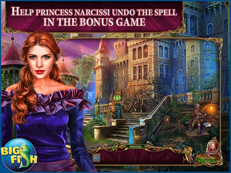 Dark Romance: Heart of the Beast HD - A Hidden Object Adventure (Full) screenshot-3