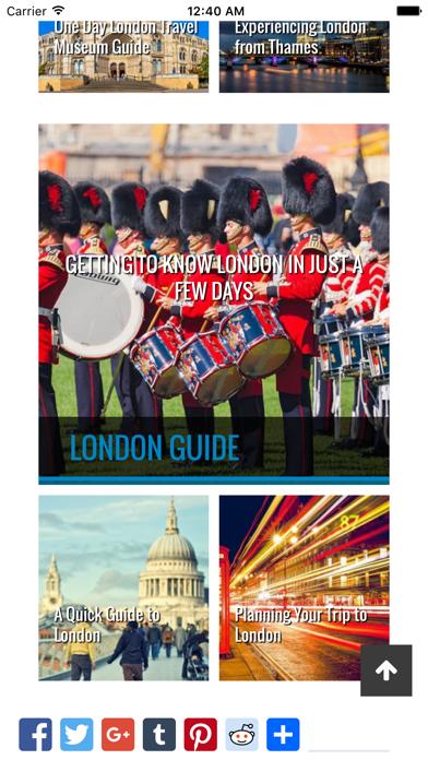 London Travel Buddy screenshot two