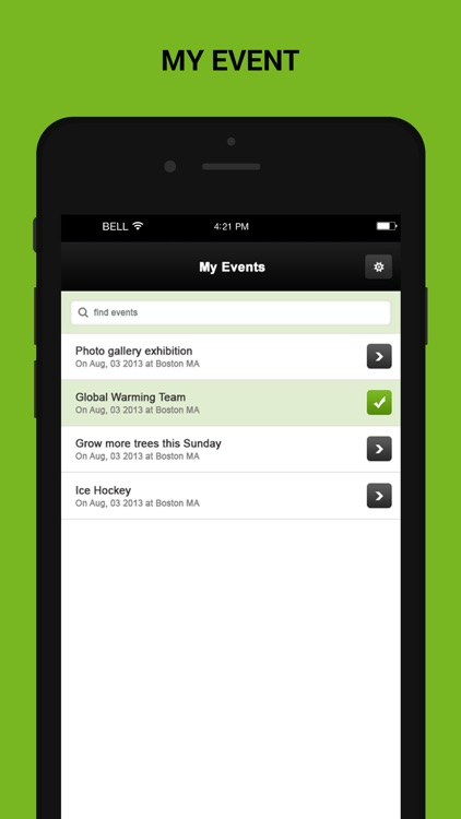 Check-In Manager for Ticketing software