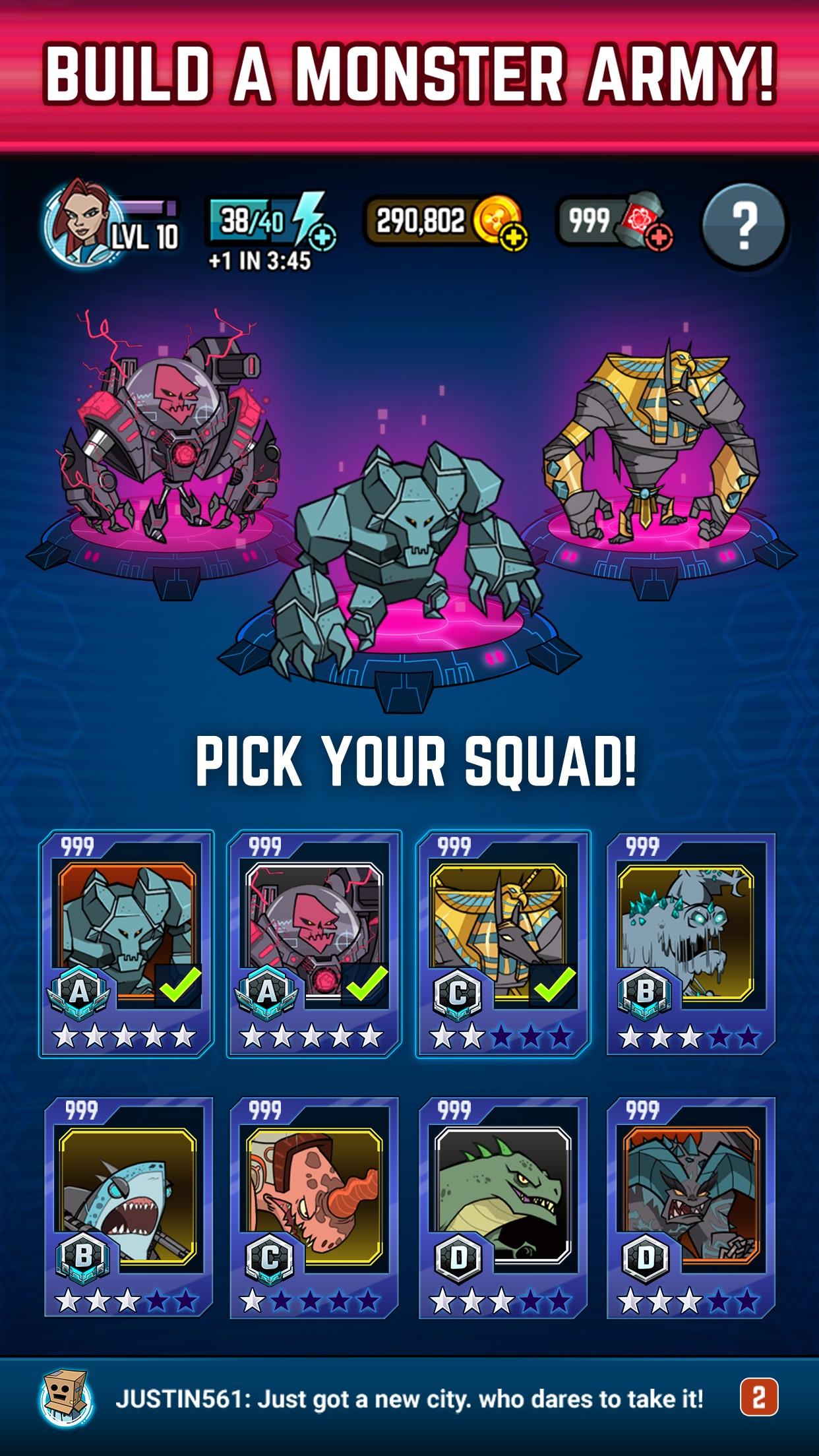 Smash Monsters - City Rampage Screenshot