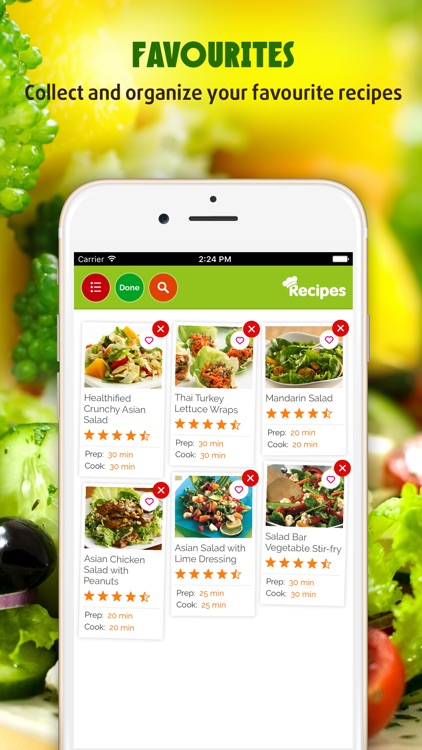 Salad Recipes ~ The Best Easy & Healthy Salad Recipes screenshot-3