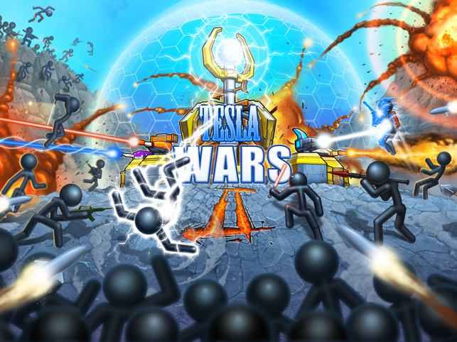 ‎Tesla Wars - II Screenshot