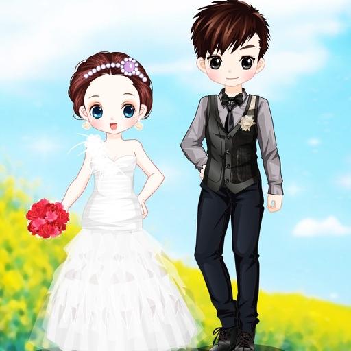 神话般的婚礼换装