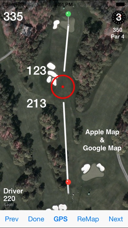 Golf GPS Rangefinder Scorecard screenshot-0