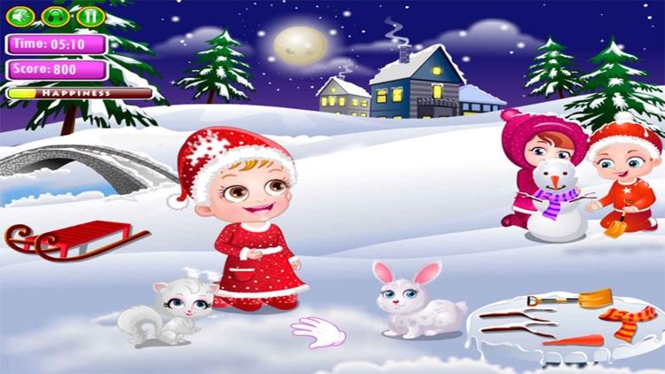 Cute Baby Christmas Fun screenshot-3
